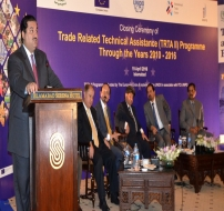 Closing Ceremony of Trade Related Technical Assistance (TRTA III) Programme through the Years 2010-2016